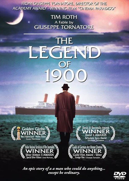 the legends of 1900 Compra the legend of 1900 ( la leggenda del pianista sull'oceano ) ( the  legend of the pianist on the ocean (the legend of nineteen hundred) ) by tim  roth.